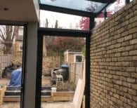 Framed glass Extension