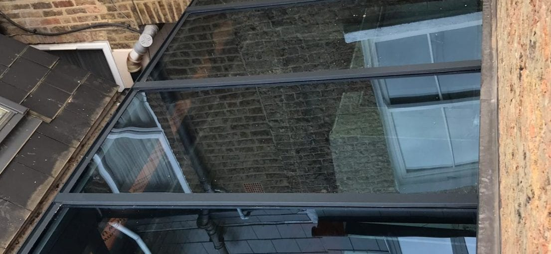Framed glass Extension