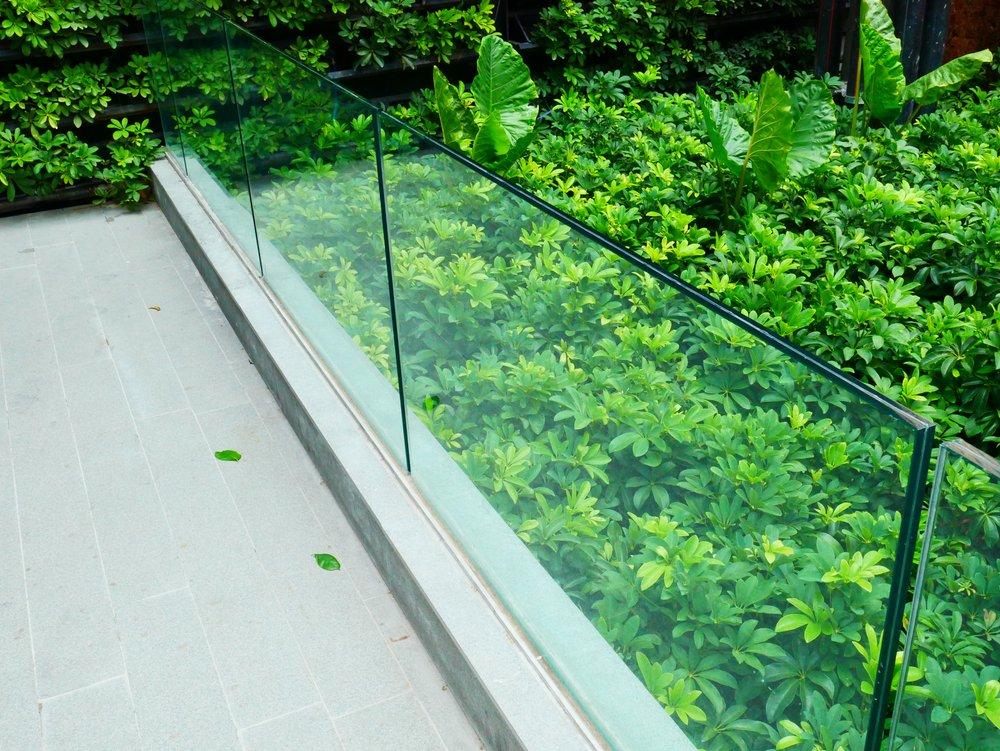 Decking Glass Balustrades